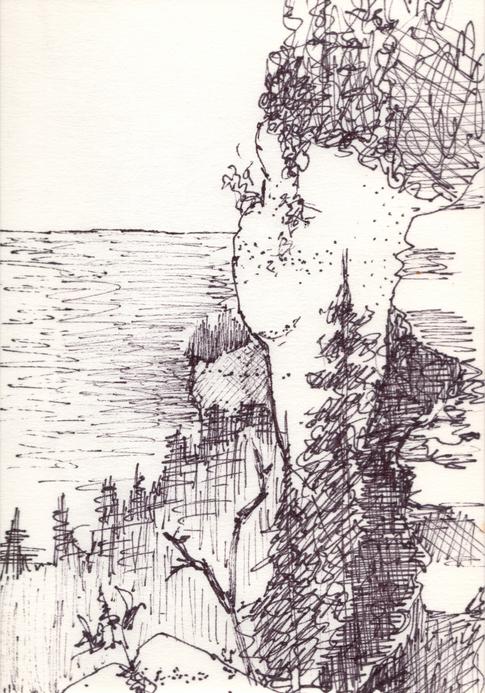 Cliffs Near Loin's Head