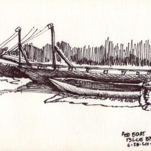 Red Boat, Blue Barge