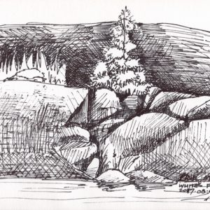 White's Fall Dam