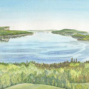 Islands of Colpoy's Bay