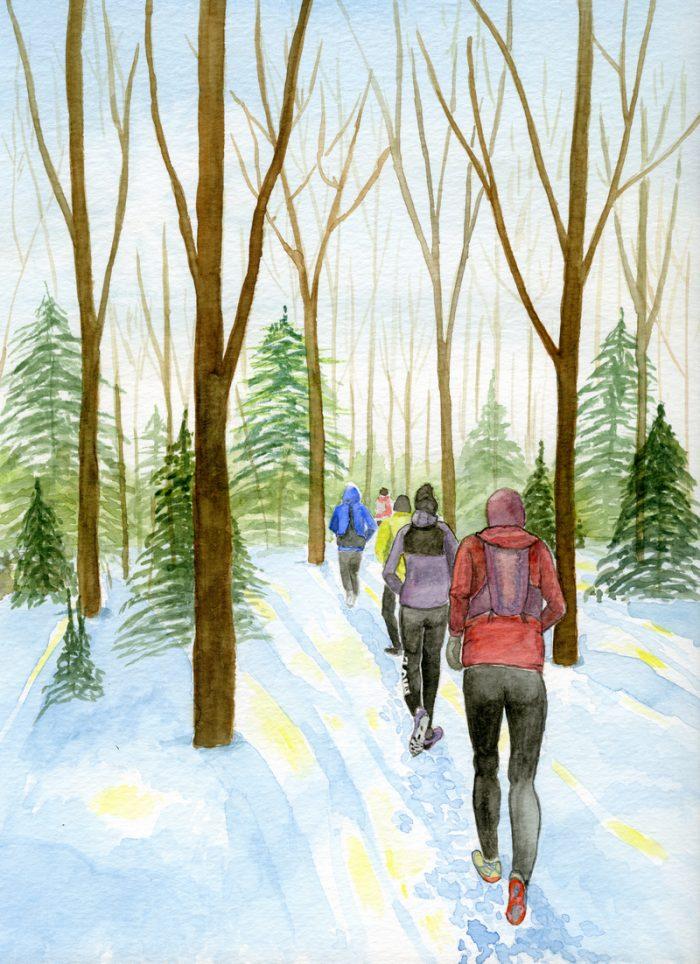 Mono Centre – Winter Trail Run