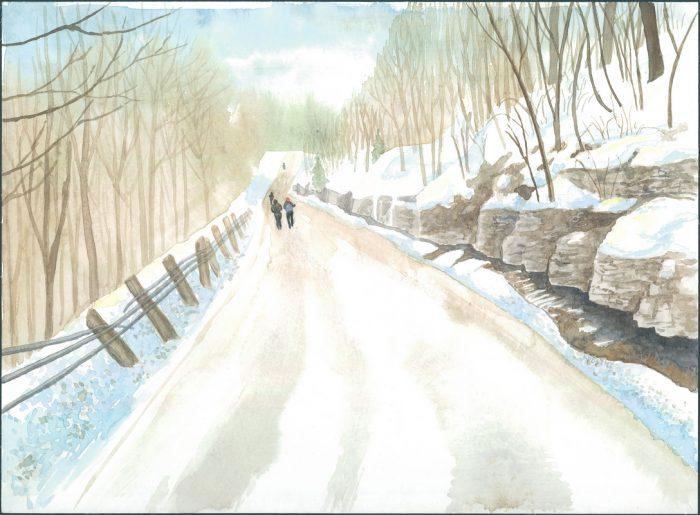 Winter's Country Road Run