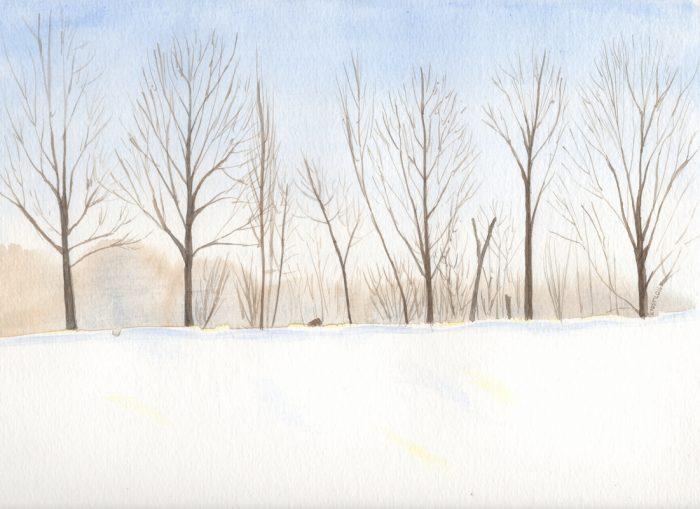 Winter's Field Edge